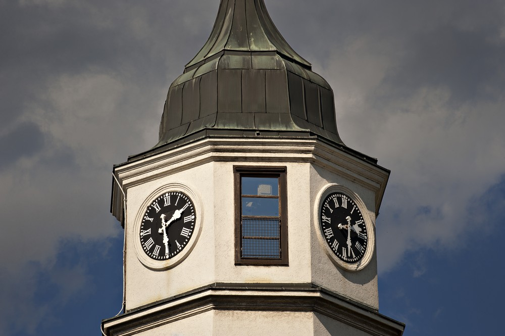 Clock on Sahat Tower