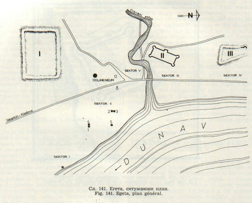 Brza Palanka - fortification plan