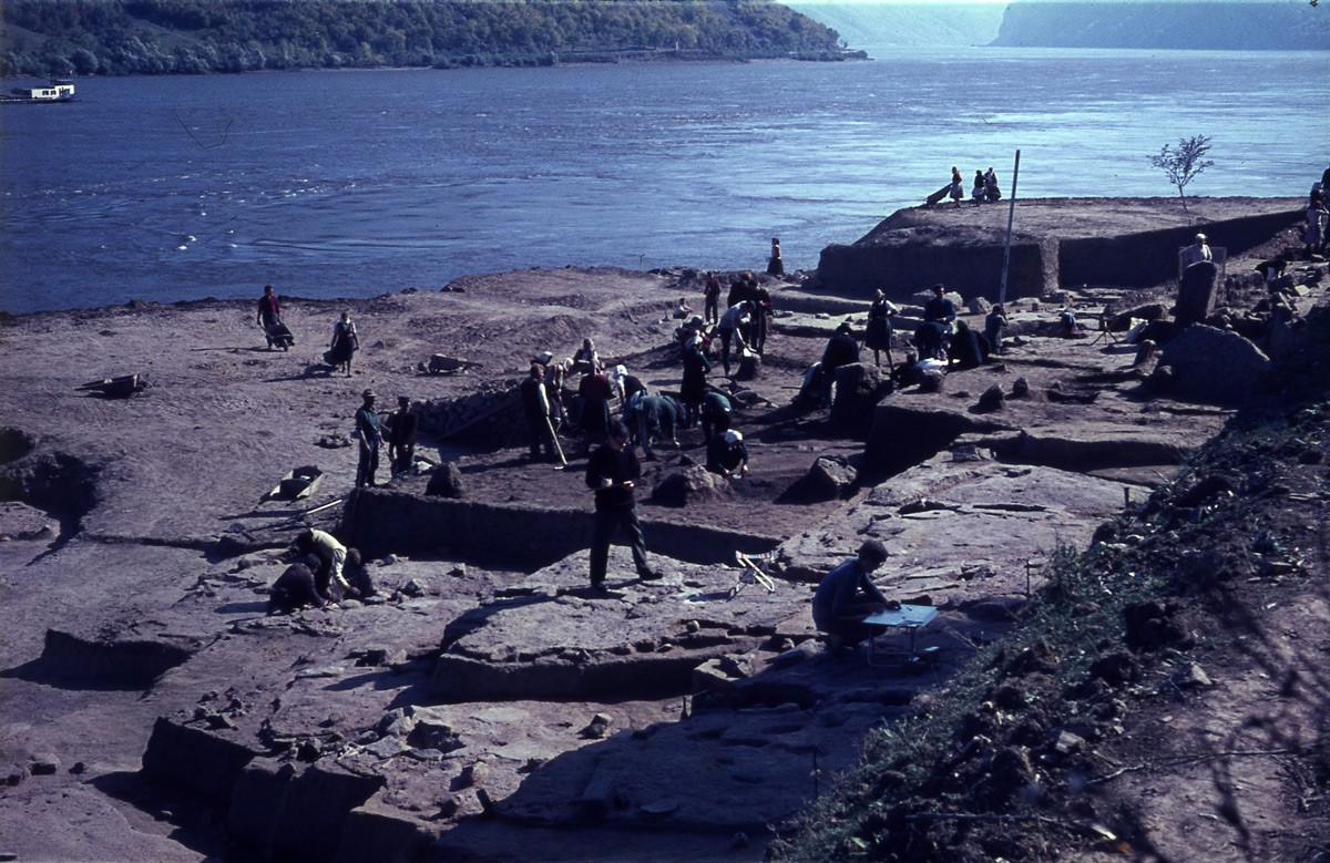 Archaeological excavations 1968