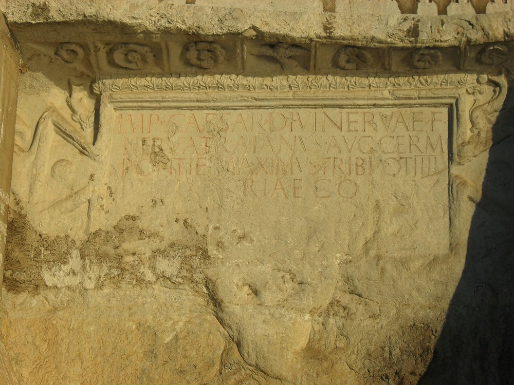 Trajan's Plaque, Lower Gorge of the Danube