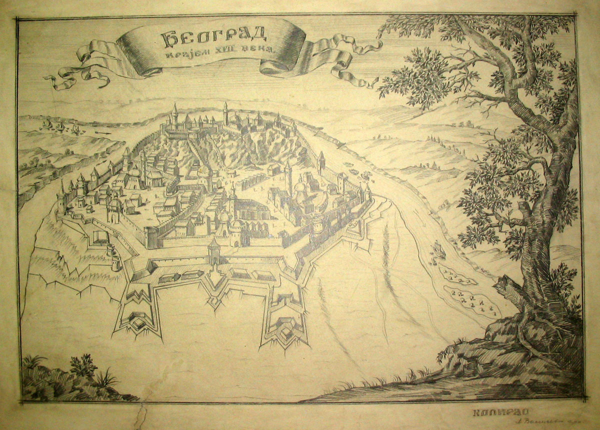 Belgrade at the ned of the 17th century