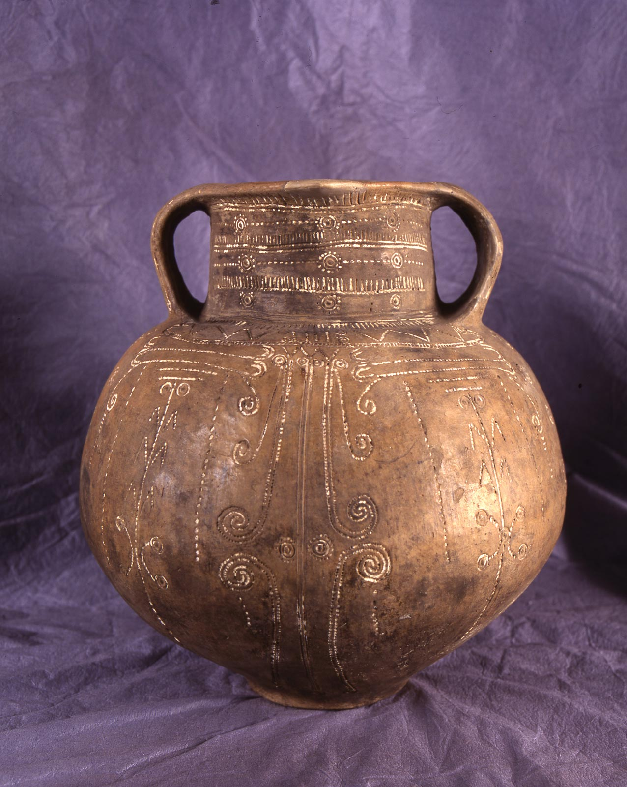 Prehistoric Urn from the Bronze Age